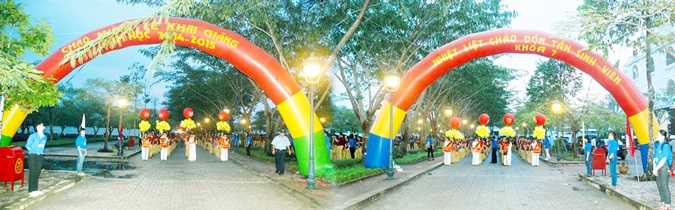 The gigantic transformation of Vo Truong Toan University