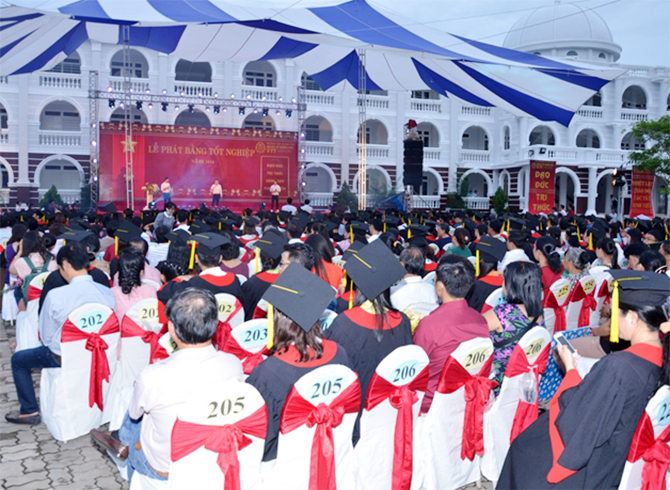 The Graduation Ceremony in 2016